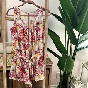 🌸Summer tropical romper